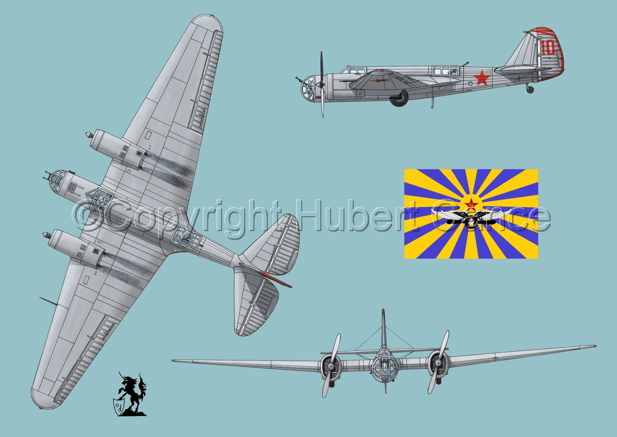 "Tupolev SB-2 ""Katyusha"" (Flag #2.2) (large view)"