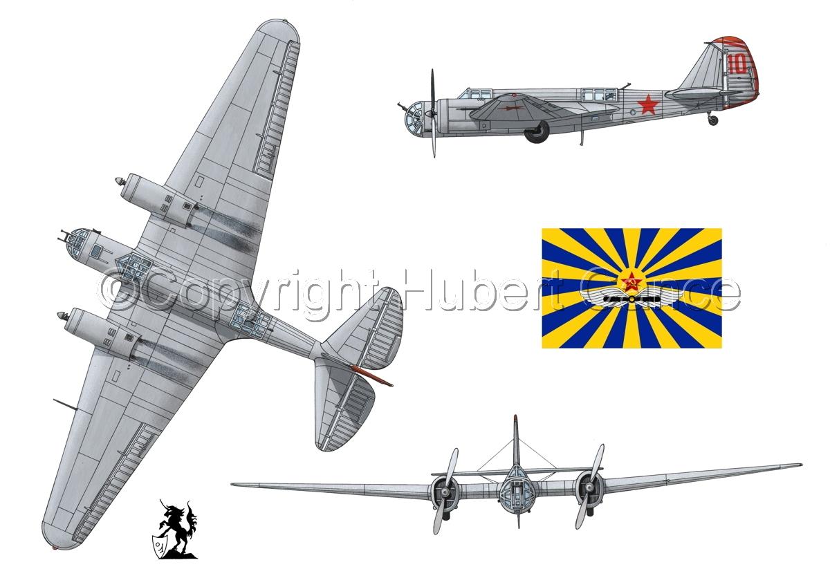"""Tupolev SB-2 """"Katyusha"""" (Flag #3.1) (large view)"""