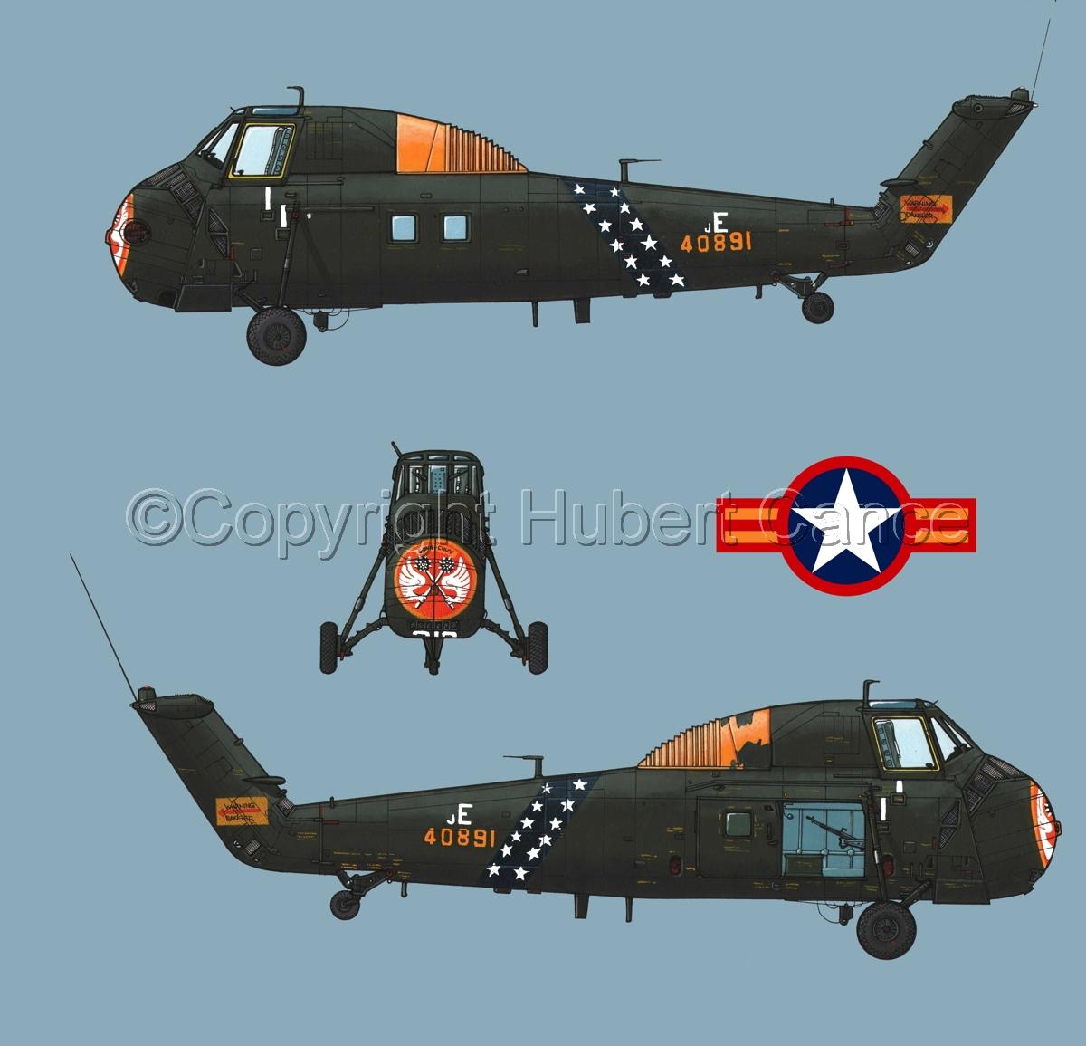 "Sikorsky H-34 ""Choctaw"" VNAF (Roundel #1.2) (large view)"