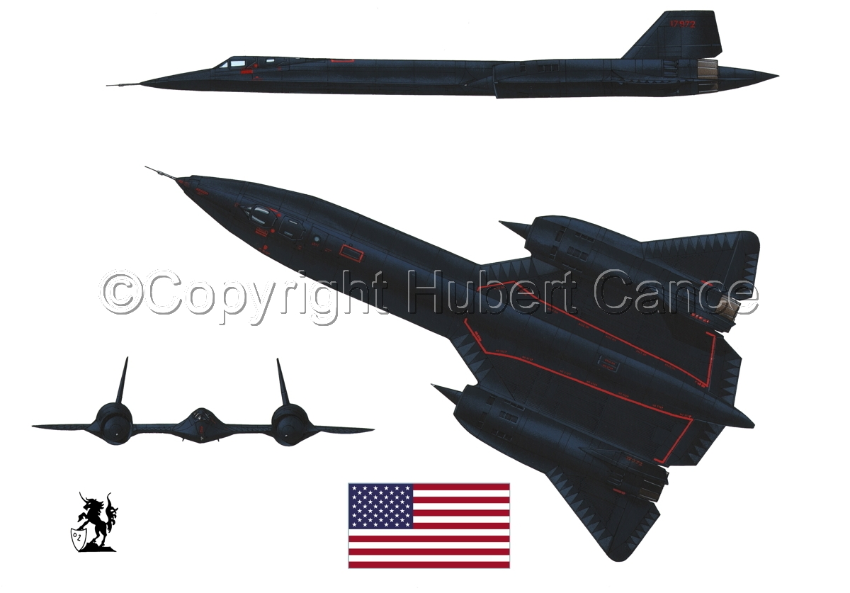 "Lockheed SR-71A ""Blackbird"" (Flag #1.1) (large view)"