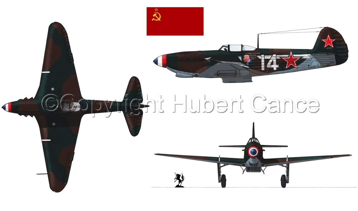 """Yakovlev Yak-9D""  (Flag #1.1) (large view)"