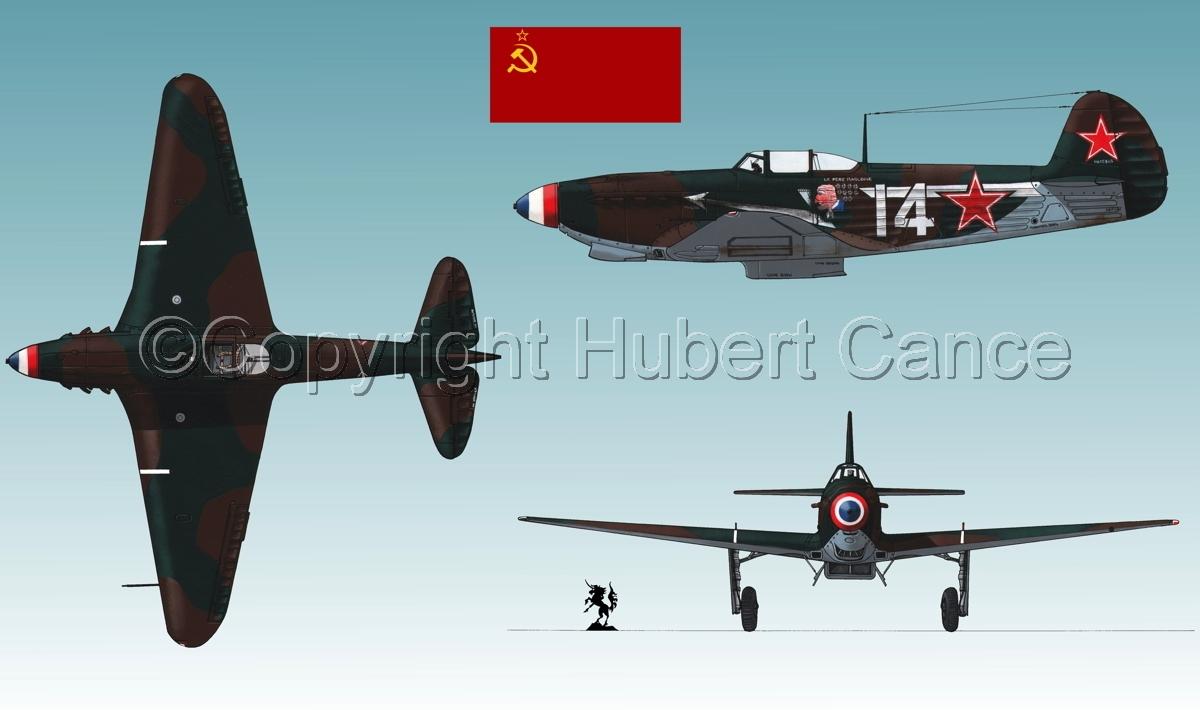 """Yakovlev Yak-9D""  (Flag #1.1) (large view)"