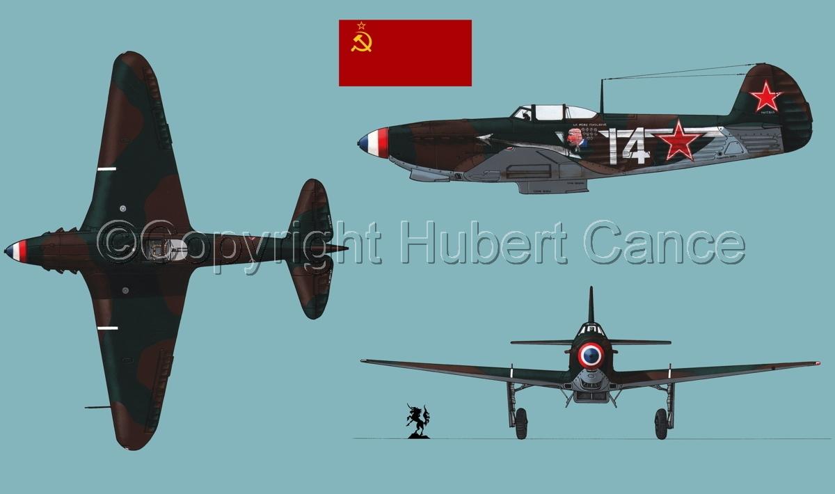"""Yakovlev Yak-9D""  (Flag #1.2) (large view)"