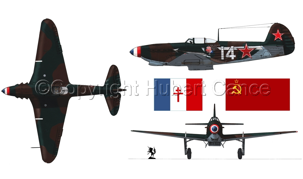 """Yakovlev Yak-9D""  (Flag #2.1) (large view)"