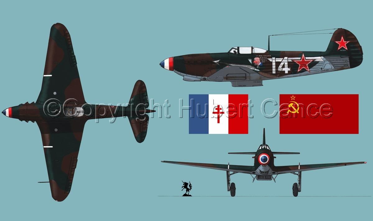 """Yakovlev Yak-9D""  (Flag #2.2) (large view)"