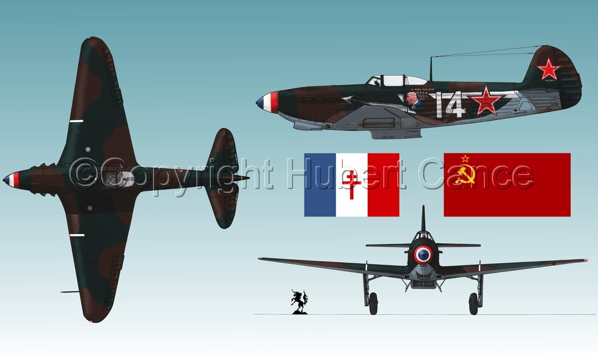 """Yakovlev Yak-9D""  (Flag #2.3) (large view)"