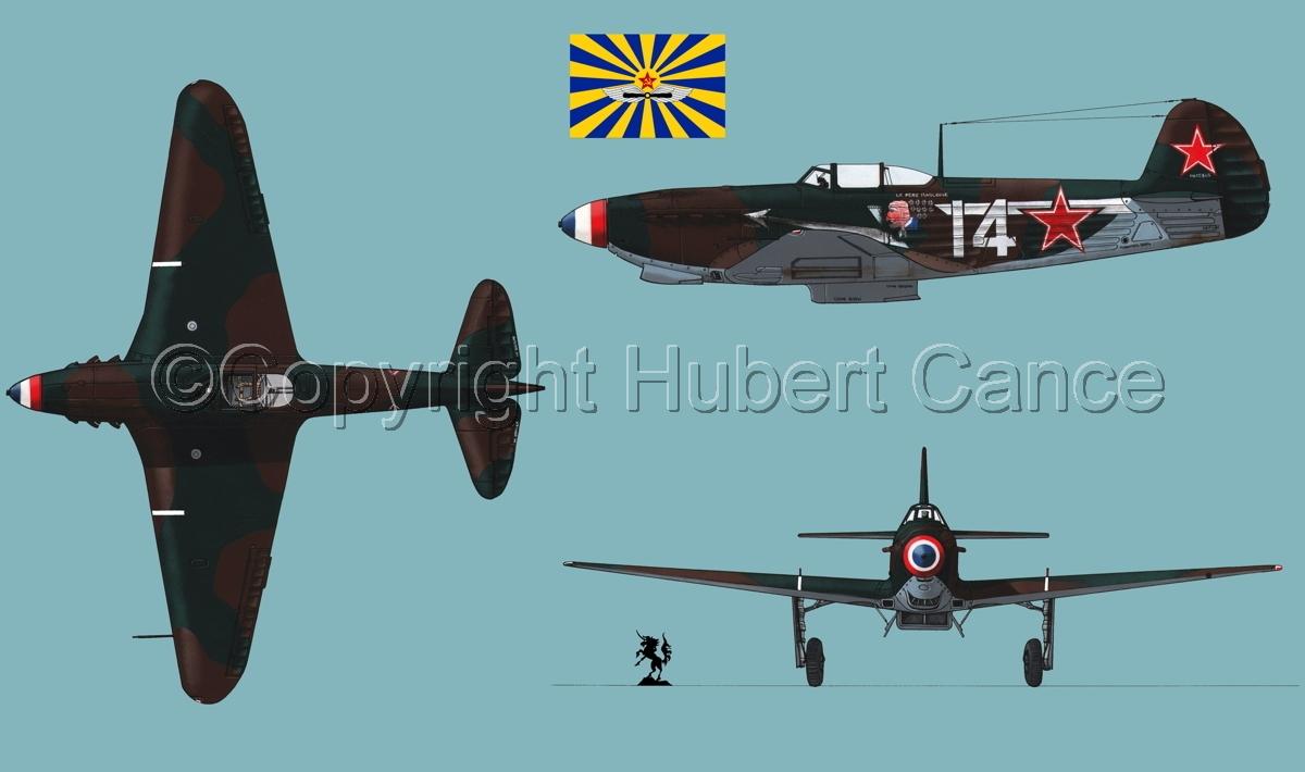 """Yakovlev Yak-9D""  (Flag #4.2) (large view)"