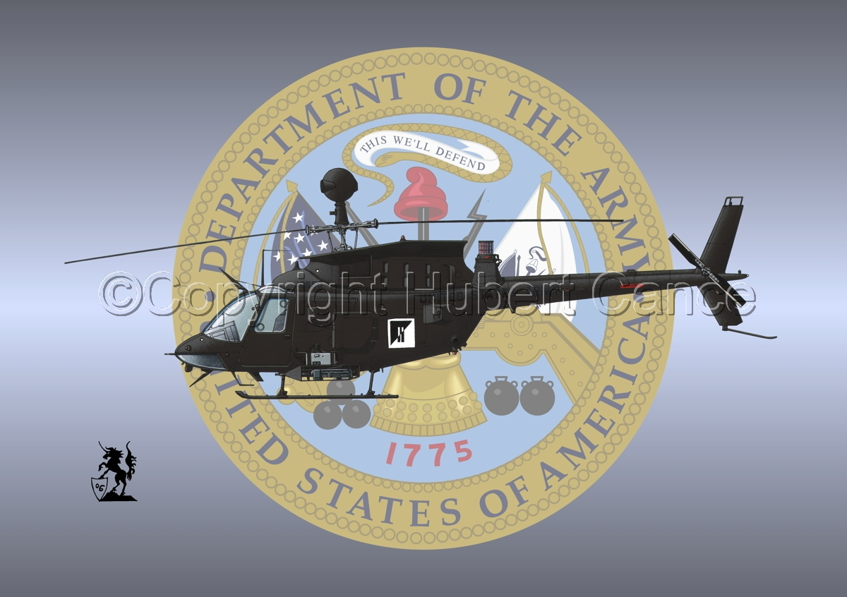 "Bell OH-58D ""Kiowa Warrior"" (Insignia #1) (large view)"