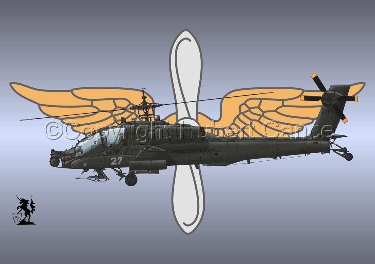 """Hughes AH-64A """"Apache"""" (Insignia #2) (large view)"""