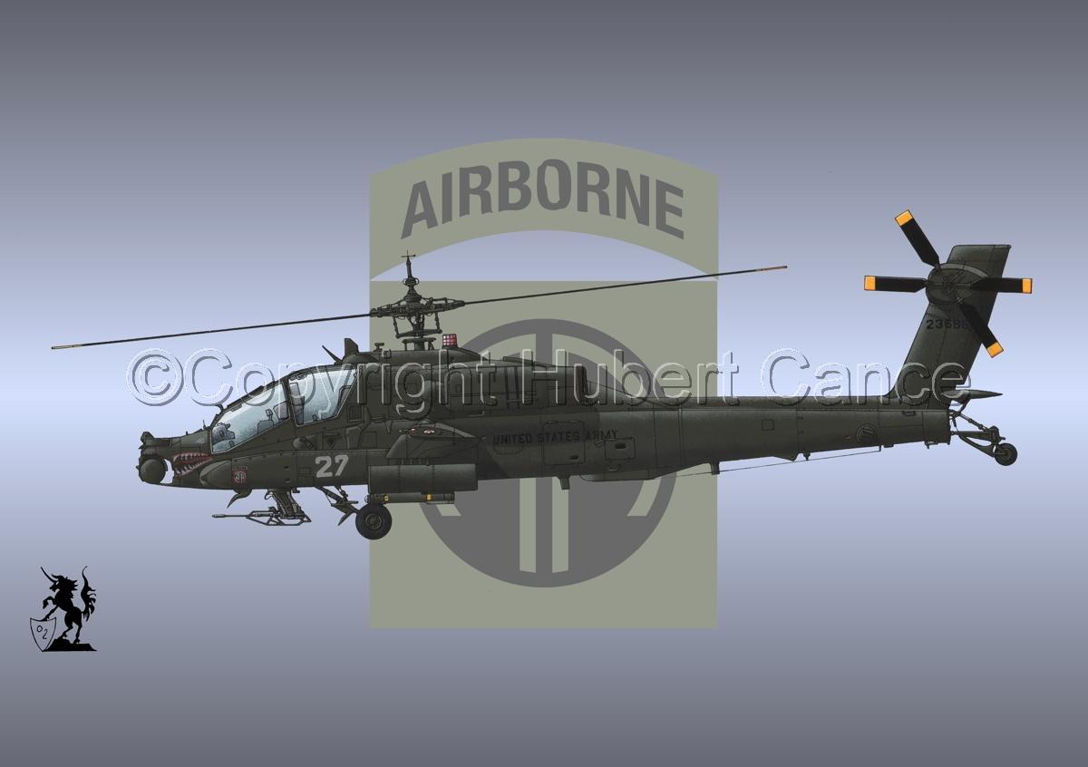 """Hughes AH-64A """"Apache"""" (Insignia #5) (large view)"""