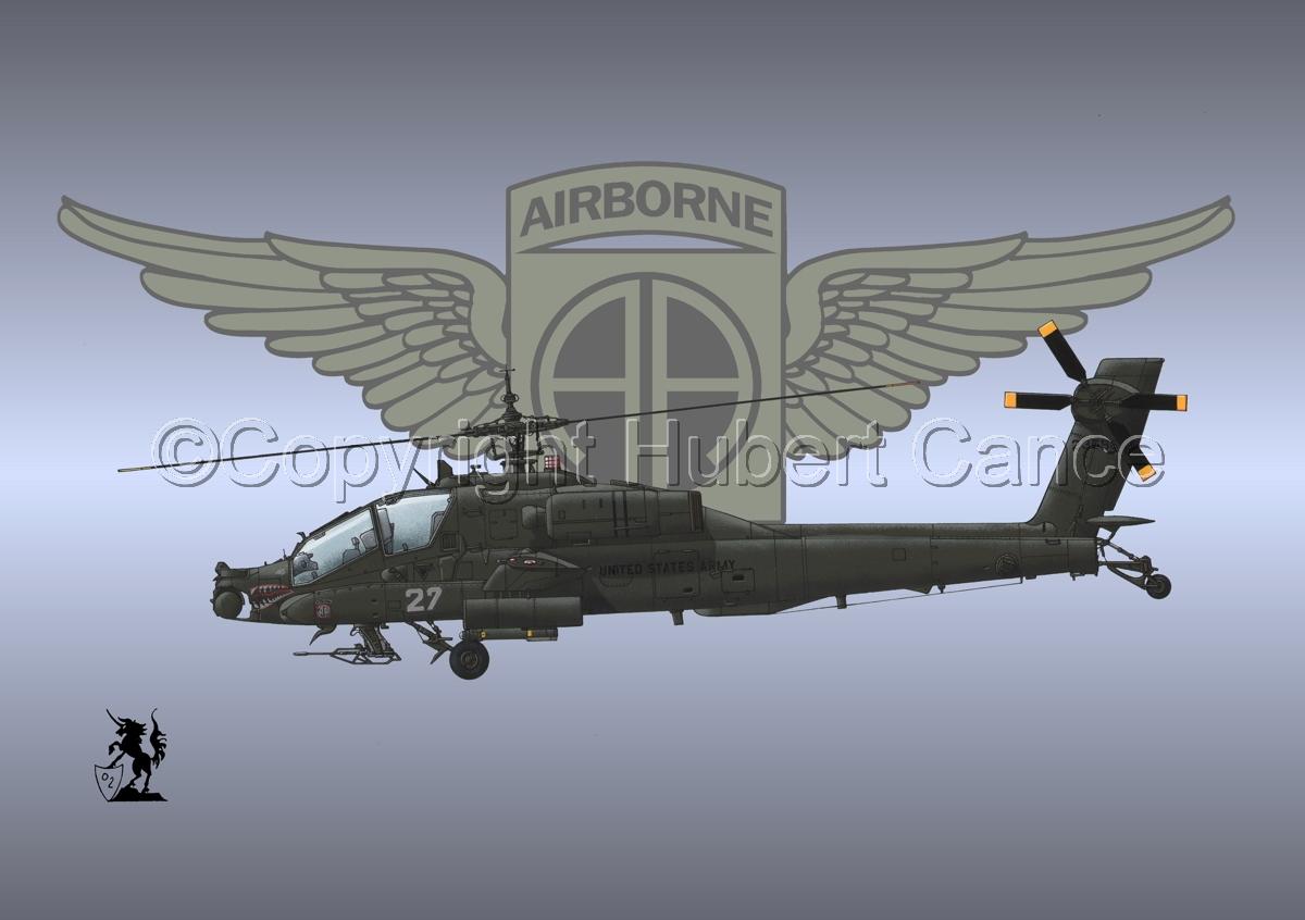 """Hughes AH-64A """"Apache"""" (Insignia #8) (large view)"""