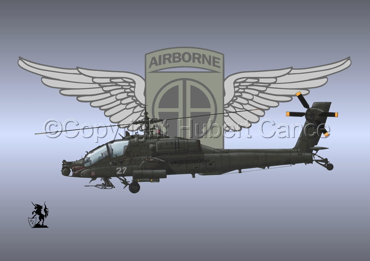 """Hughes AH-64A """"Apache"""" (Insignia #10) (large view)"""