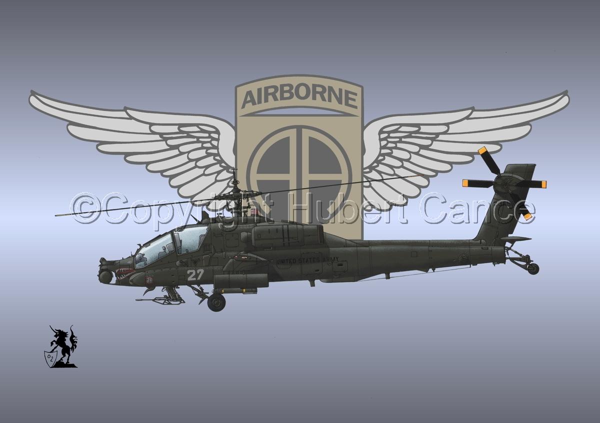 """Hughes AH-64A """"Apache"""" (Insignia #11) (large view)"""