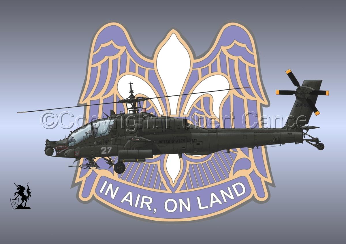 """Hughes AH-64A """"Apache"""" (Insignia #13) (large view)"""