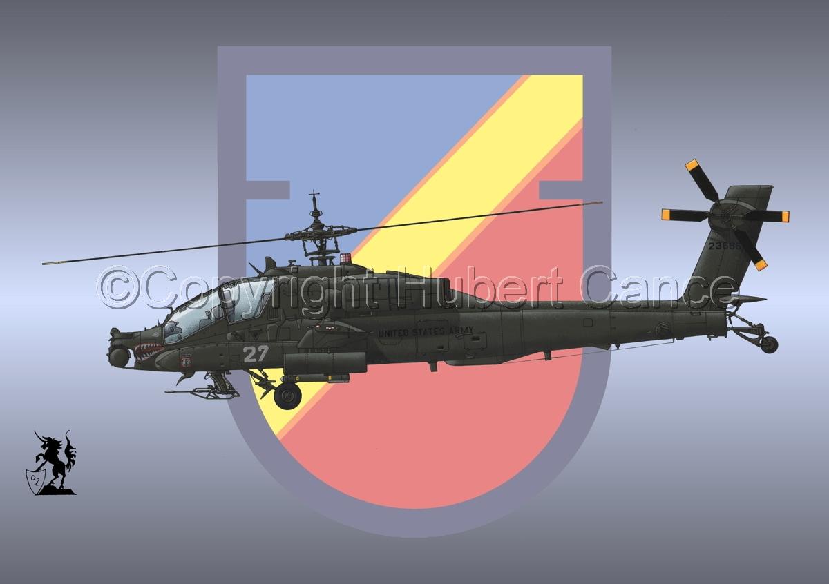 """Hughes AH-64A """"Apache"""" (Insignia #16) (large view)"""