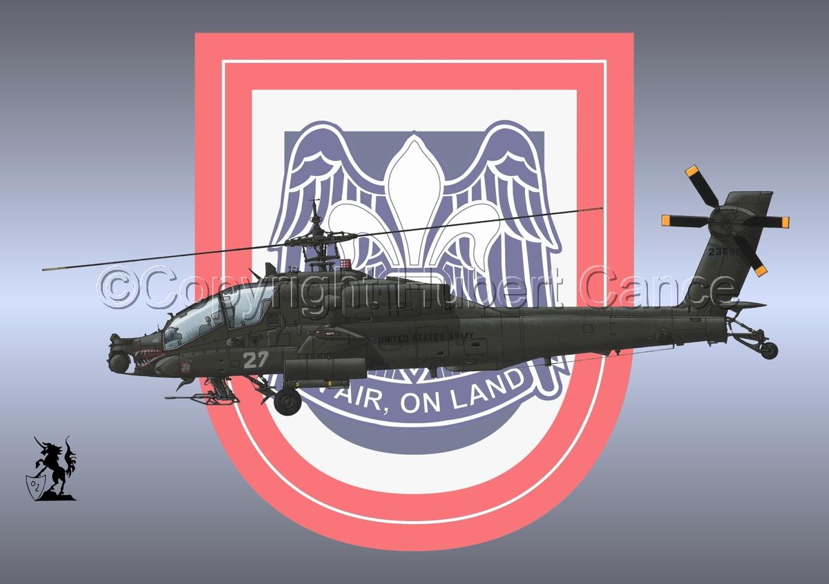 """Hughes AH-64A """"Apache"""" (Insignia #15) (large view)"""
