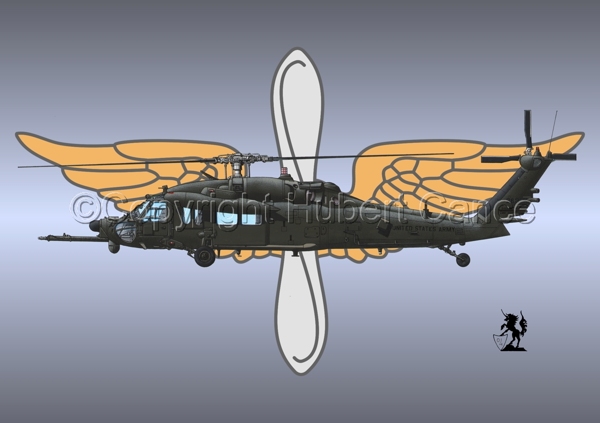 """Sikorsky MH-60K """"Blackhawk"""" (Insignia #2) (large view)"""