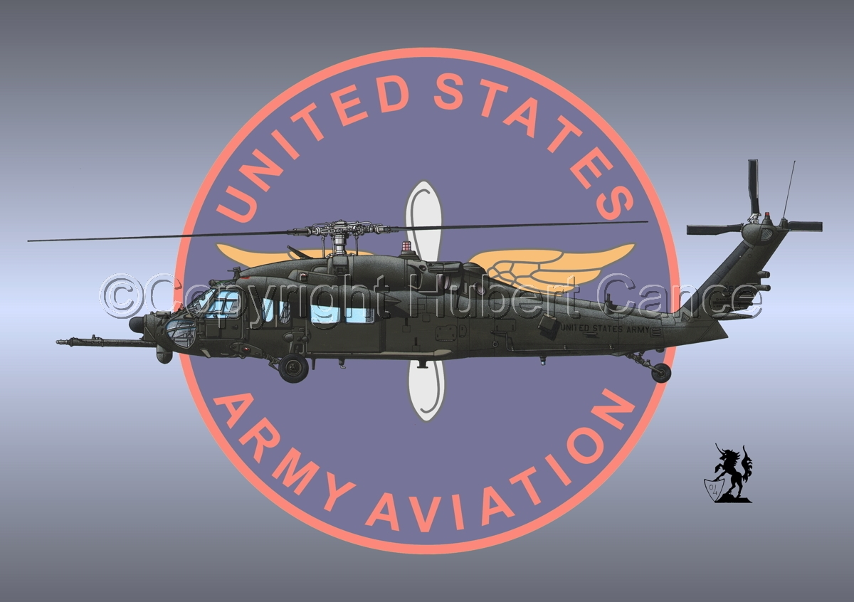 """Sikorsky MH-60K """"Blackhawk"""" (Insignia #3) (large view)"""