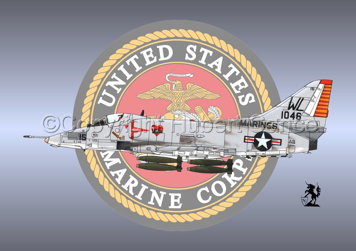 "Douglas A-4E ""Skyhawk"" (Insignia  #1) (large view)"