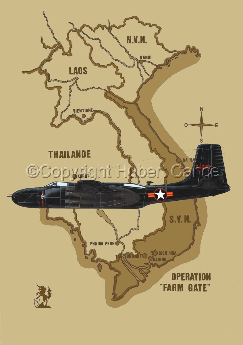 "Douglas B-26C ""Invader"" (Map #2) (large view)"