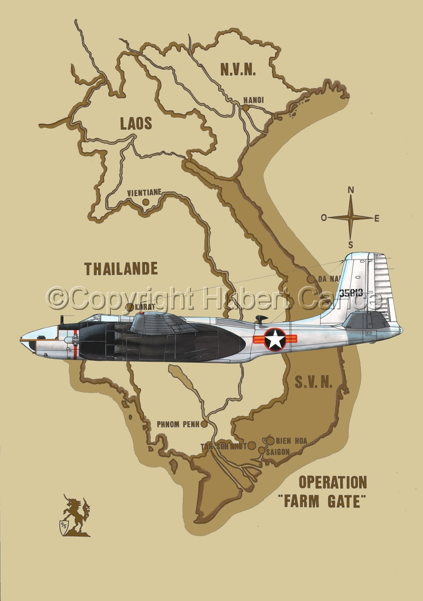 "Douglas RB-26C ""Invader"" (Map #2) (large view)"