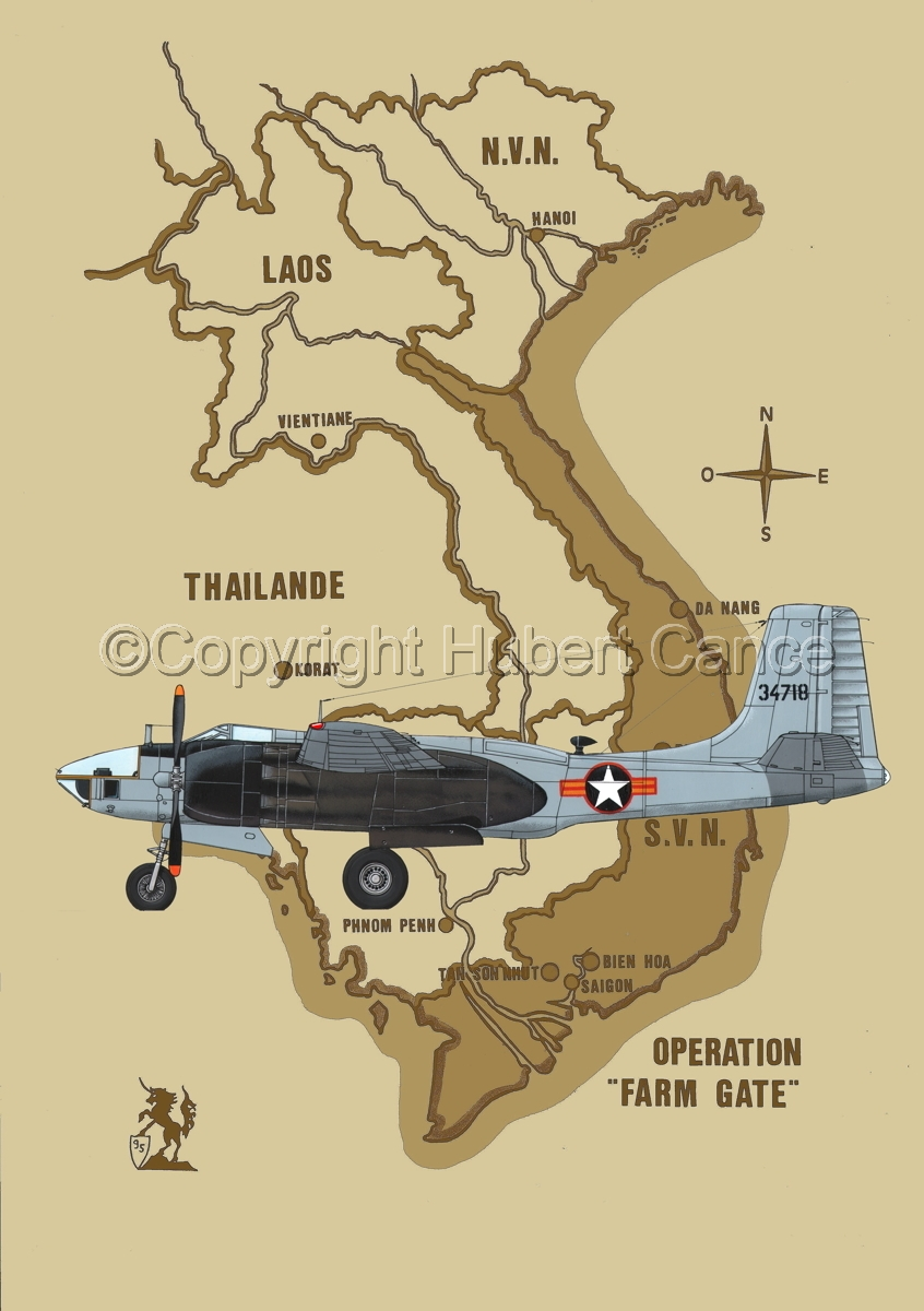 "Douglas RB-26L ""Invader"" (Map #2) (large view)"