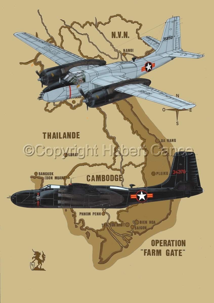 """Douglas B-26B and B-26C """"Invader"""" (Map #2) (large view)"""