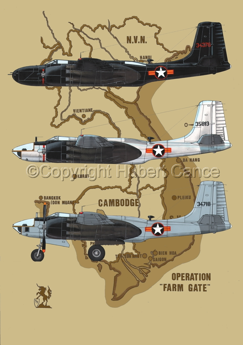 "Douglas B-26C, RB-26C and RB-26L ""Invader"" (Map #2) (large view)"