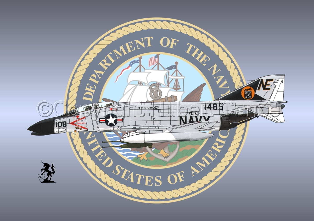 "McDD F-4B ""Phantom II"" (Insignia #1) (large view)"