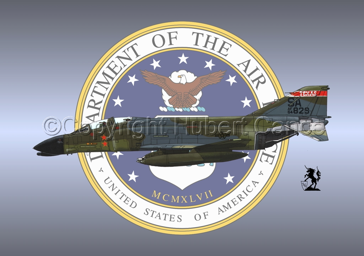"McDD F-4C ""Phantom II"" #1 (Insignia #1) (large view)"