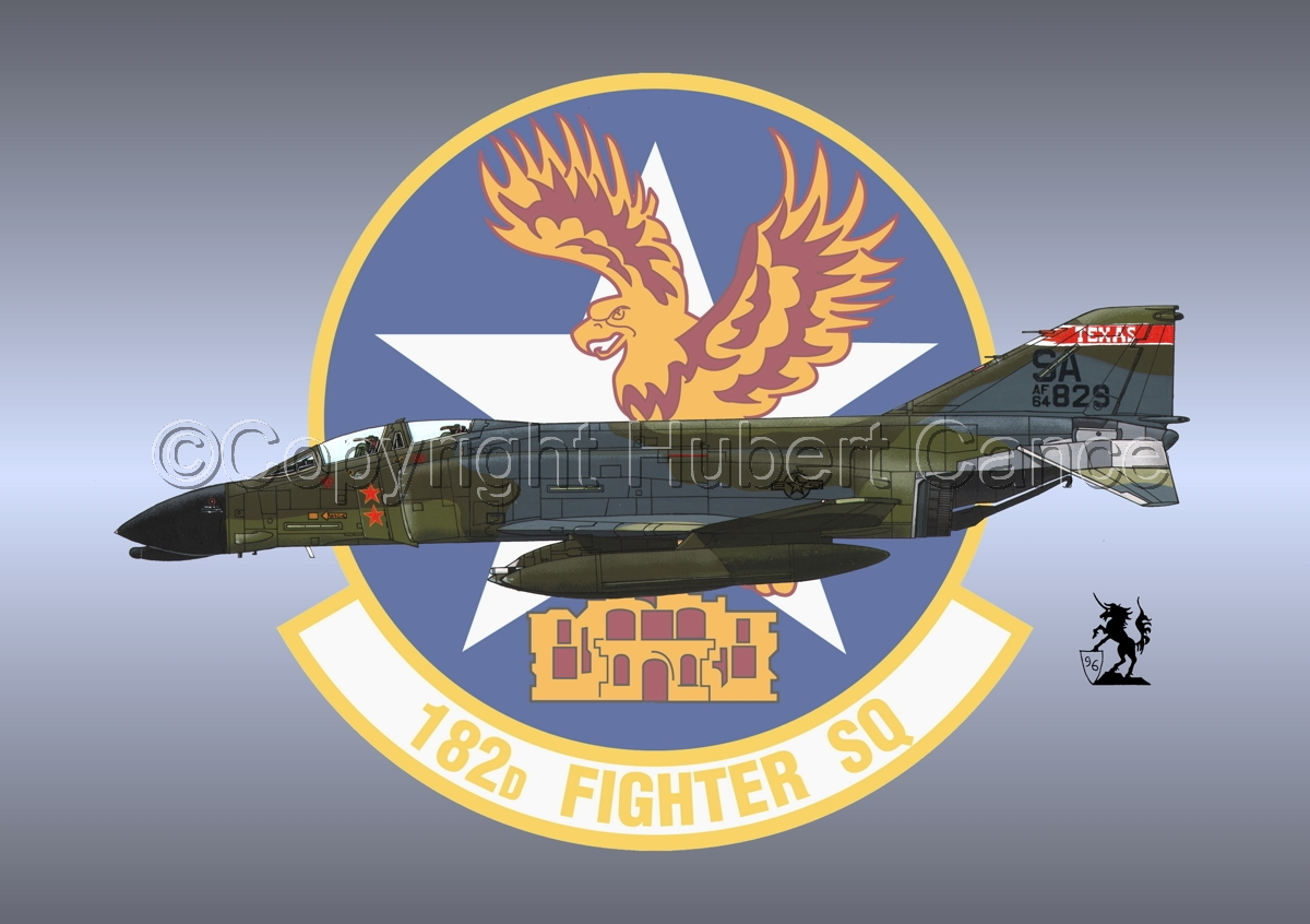 "McDD F-4C ""Phantom II"" #1 (Insignia #8) (large view)"