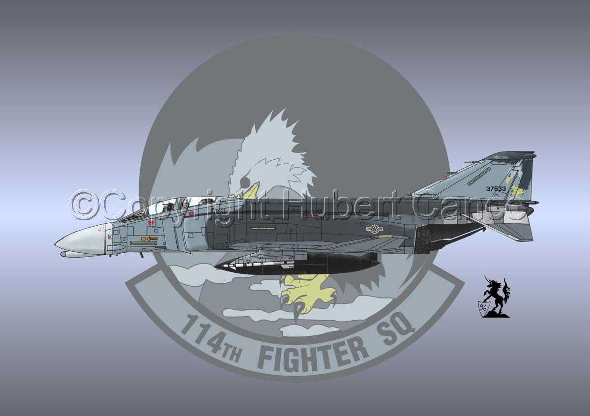 "McDD F-4C ""Phantom II"" #2 (Insignia  #9) (large view)"