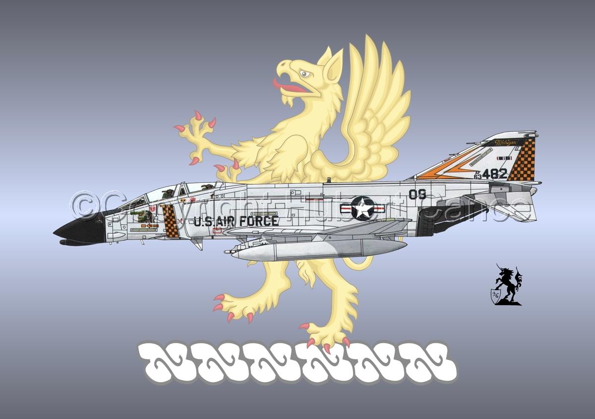 "McDD F-4C ""Phantom II"" #3bis (Insignia #7) (large view)"