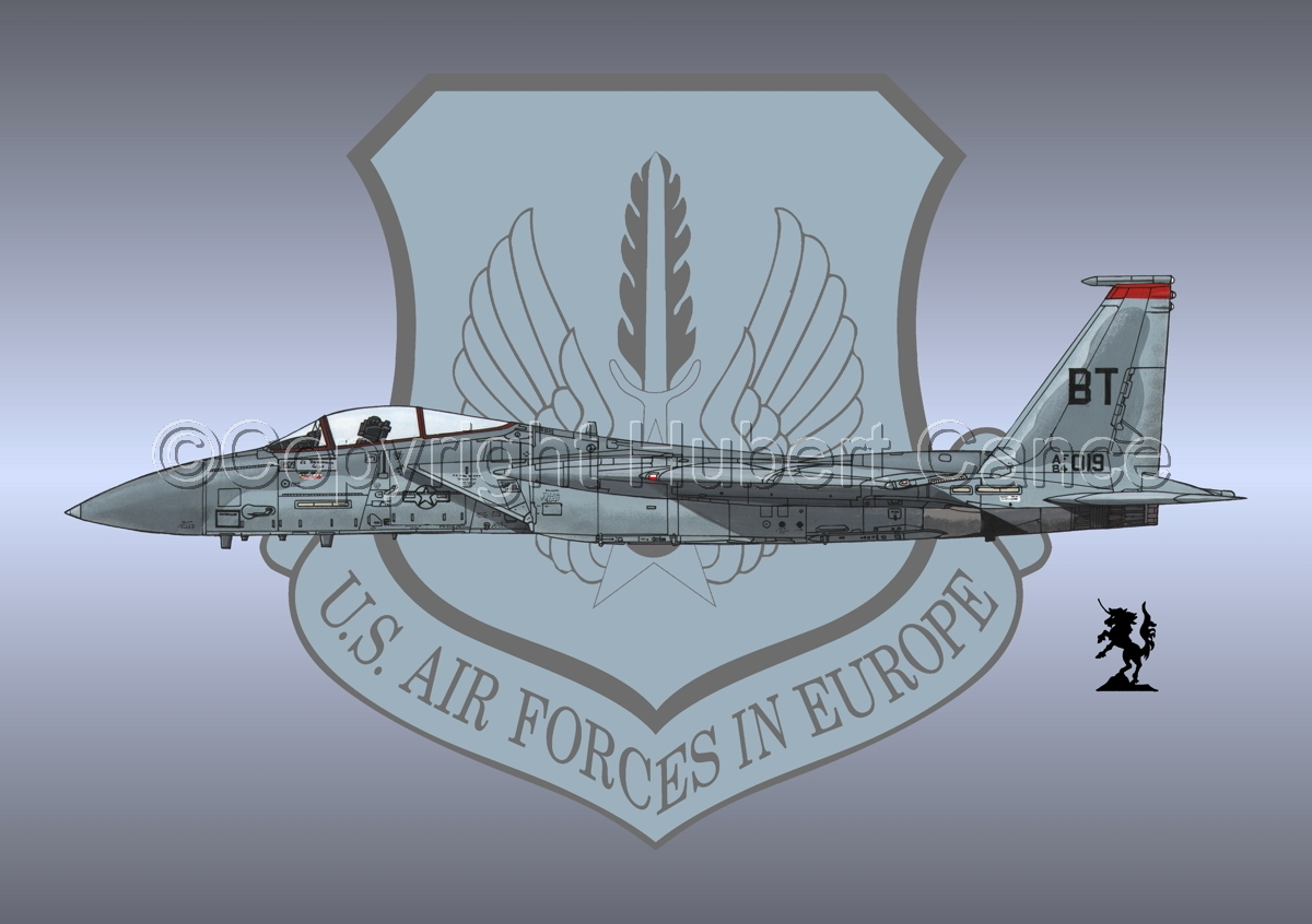 "McDD F-15C ""Eagle"" #1 (Insignia #3) (large view)"