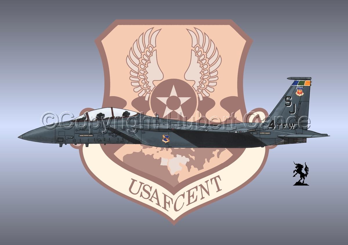 "McDD F-15E ""Strike Eagle"" (Insignia #5) (large view)"