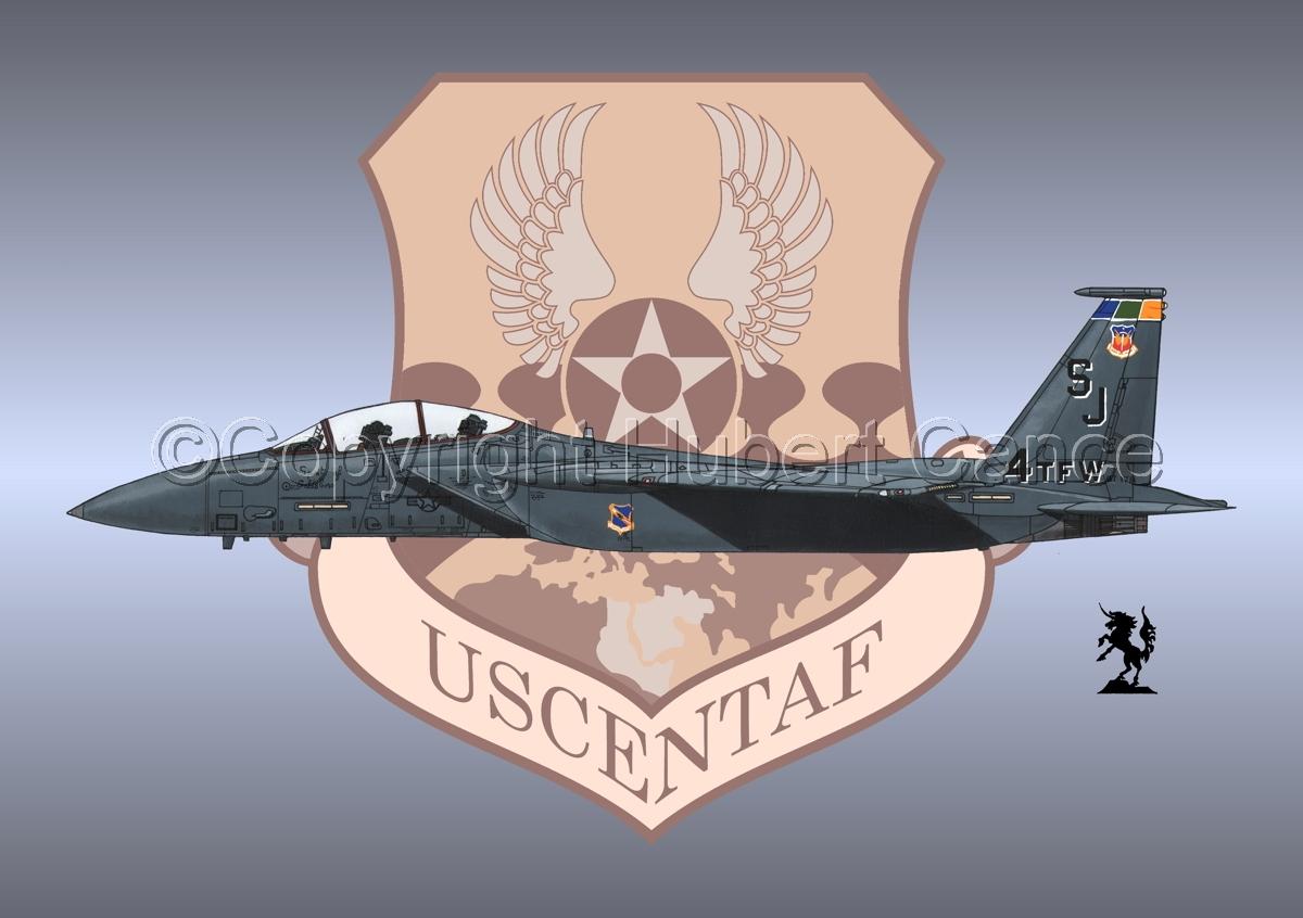 "McDD F-15E ""Strike Eagle"" (Insignia #9) (large view)"