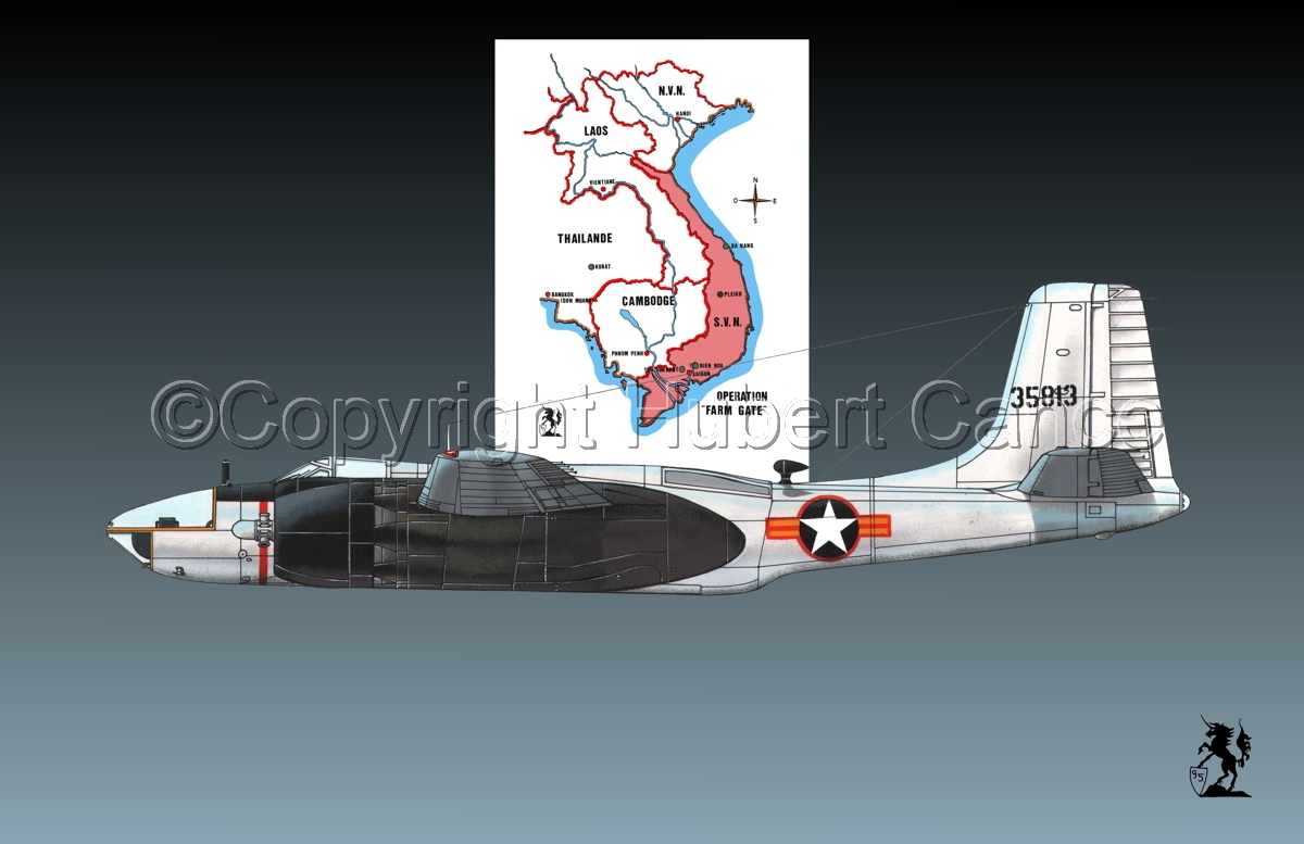"Douglas RB-26C ""Invader"" (Map #1.1) (large view)"