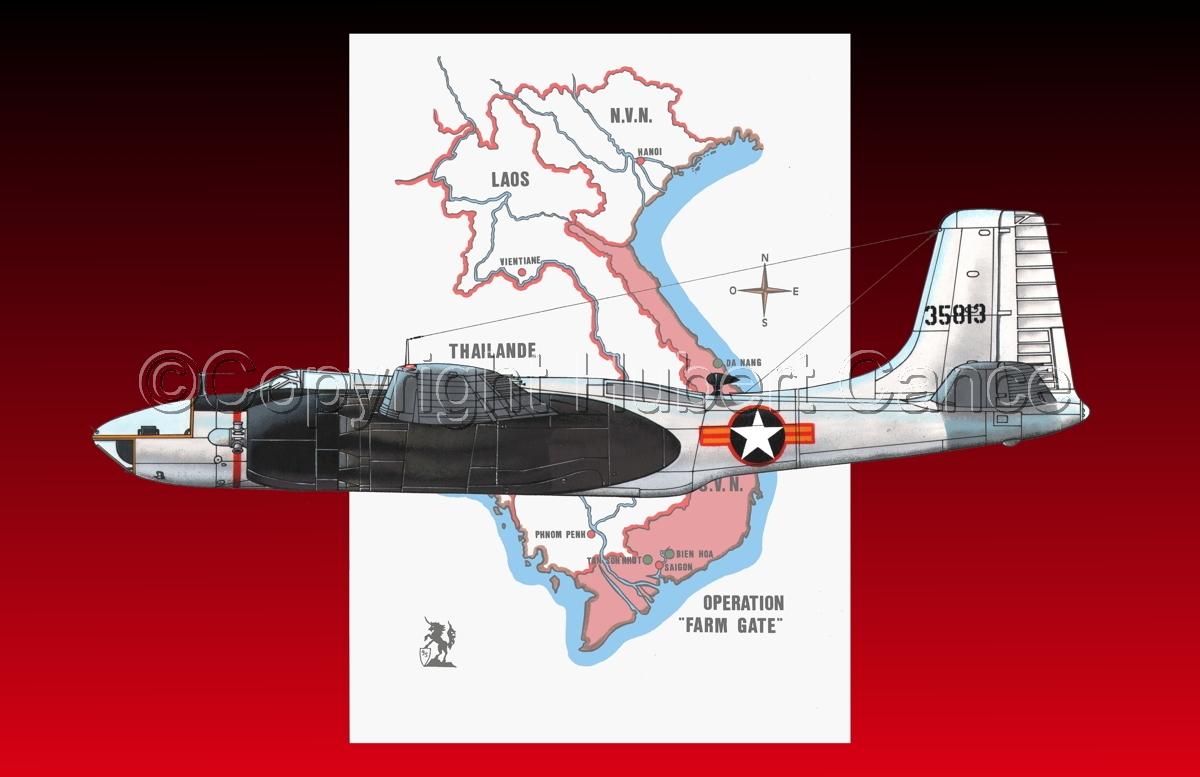 "Douglas RB-26C ""Invader"" (Map #1.5) (large view)"