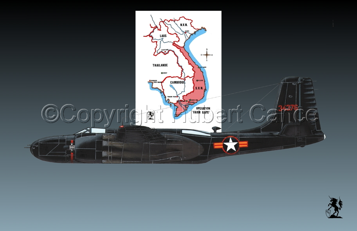 "Douglas B-26C ""Invader"" (Map #1.1) (large view)"