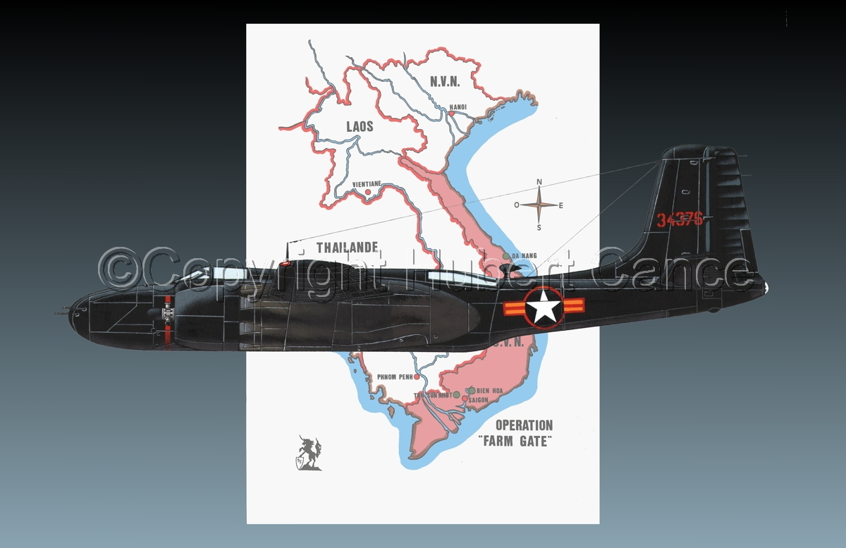 "Douglas B-26C ""Invader"" (Map #1.2) (large view)"