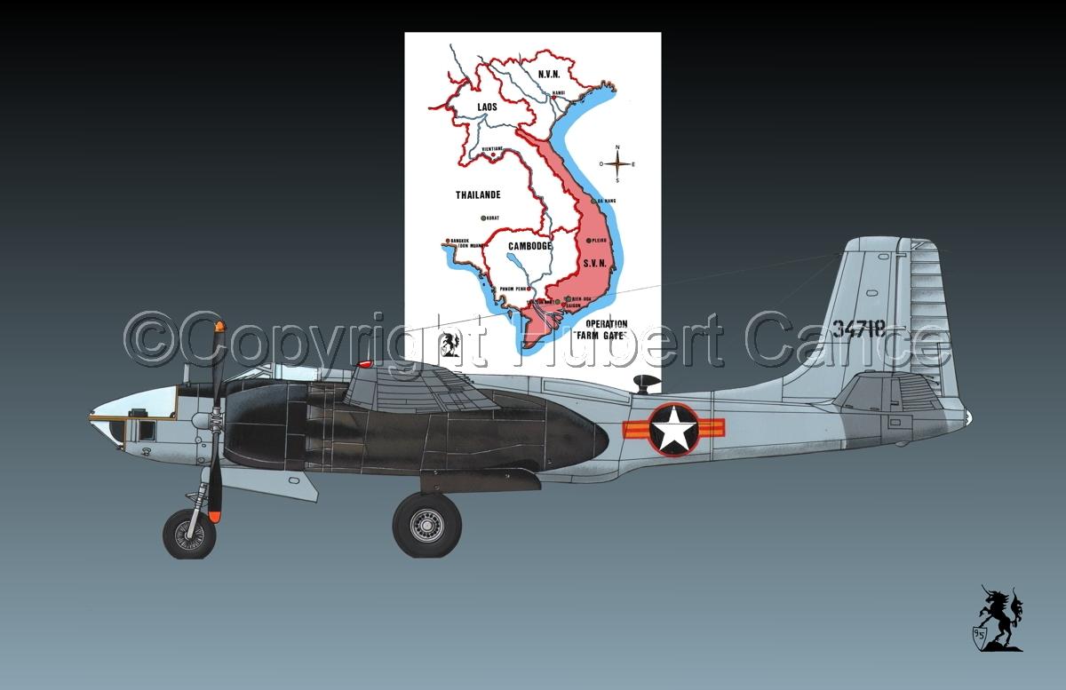 "Douglas RB-26L ""Invader"" (Map #1.1) (large view)"