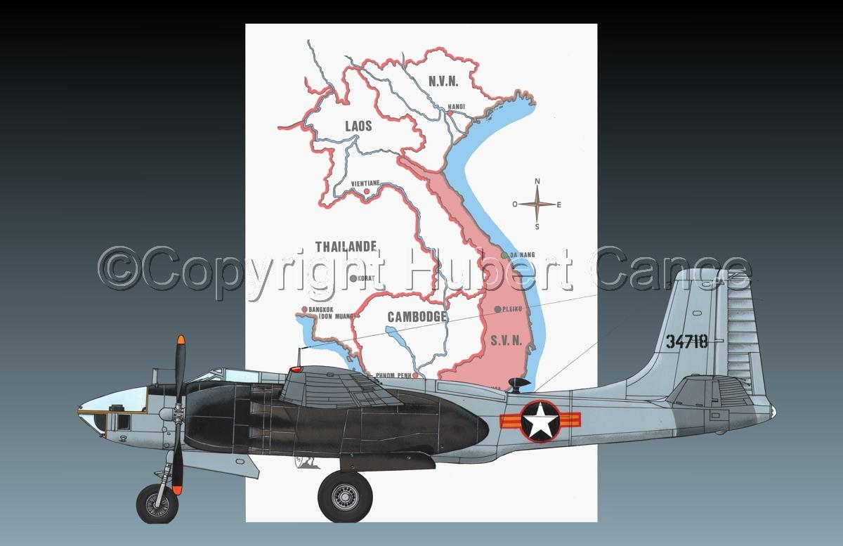 "Douglas RB-26L ""Invader"" (Map #1.2) (large view)"