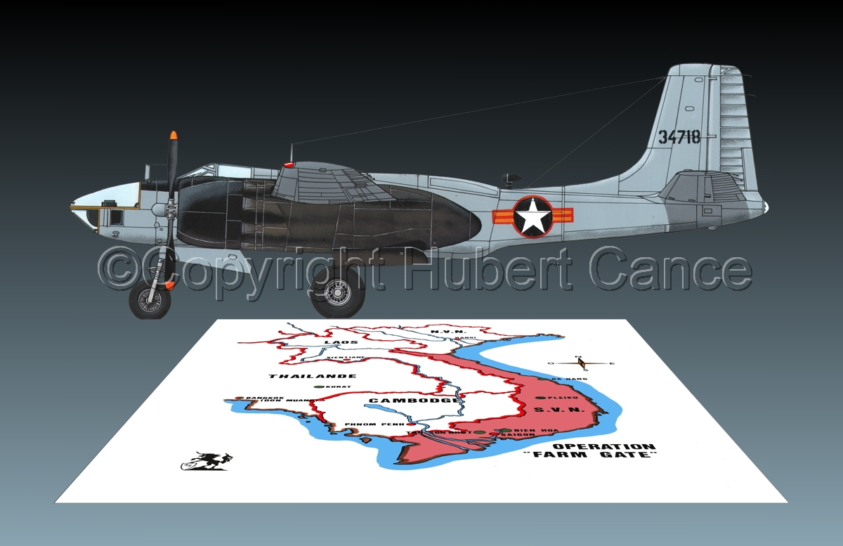 "Douglas RB-26L ""Invader"" (Map #1.3) (large view)"