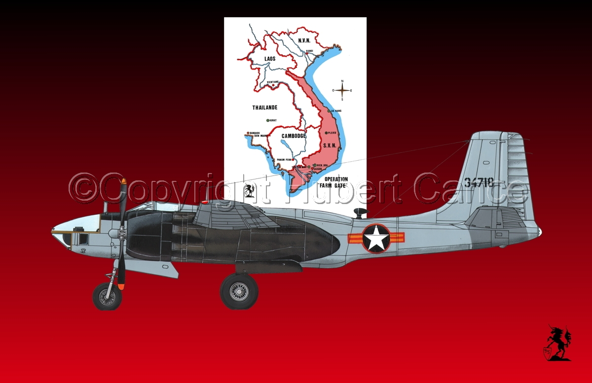"Douglas RB-26L ""Invader"" (Map #4) (large view)"
