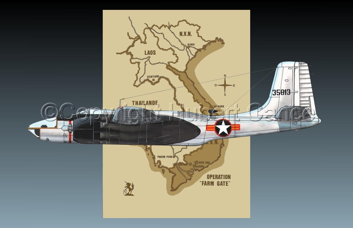 "Douglas RB-26C ""Invader"" (Map #2.2) (large view)"