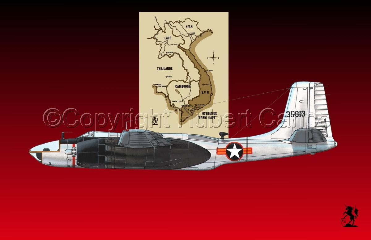 "Douglas RB-26C ""Invader"" (Map #2.4) (large view)"