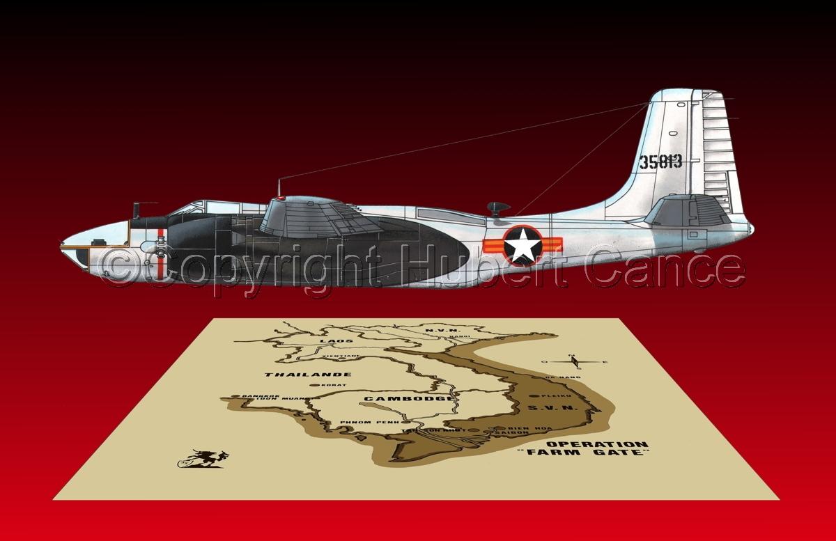 "Douglas RB-26C ""Invader"" (Map #2.6) (large view)"