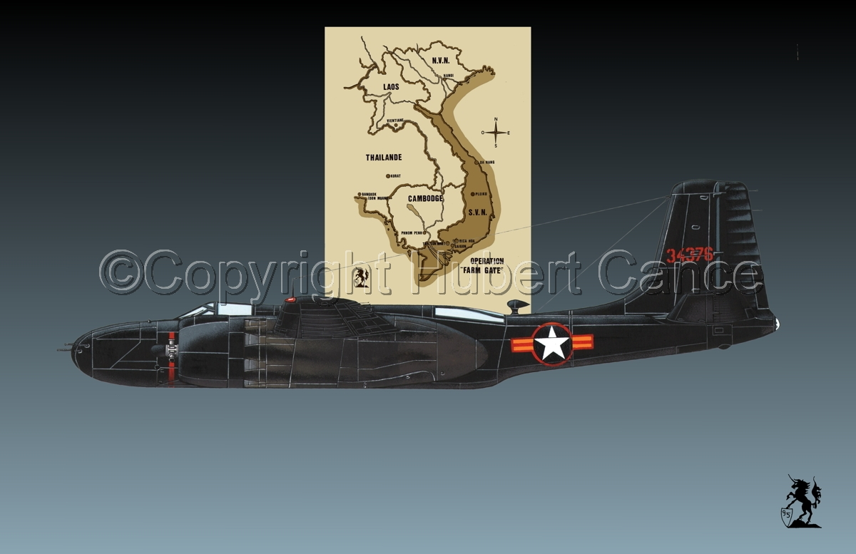 "Douglas B-26C ""Invader"" (Map #2.1) (large view)"