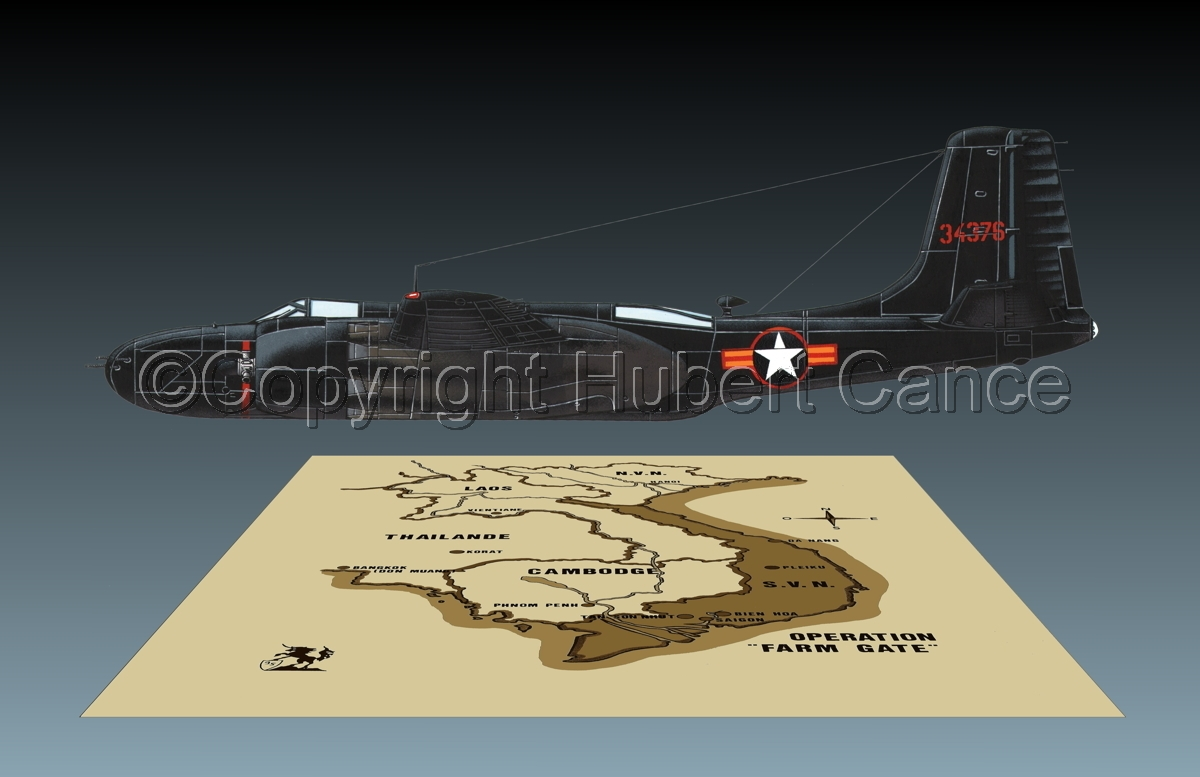 "Douglas B-26C ""Invader"" (Map #2.3) (large view)"