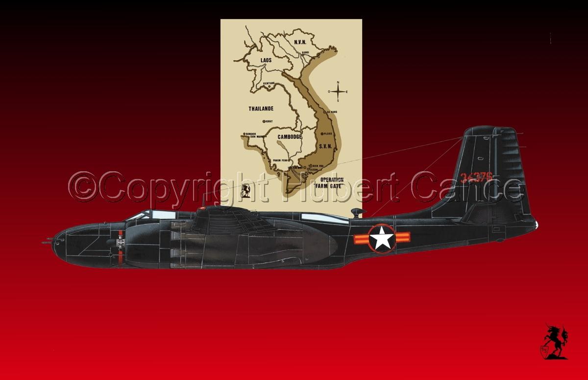 "Douglas B-26C ""Invader"" (Map #2.4) (large view)"
